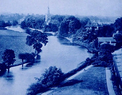 The River Avon at Stratford, early 20th. century. (Sighthound007) Tags: im p wp vp agp 1000w hist britpic