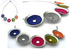 Angeles Floor capullo x 5 (Ans Designs) Tags: textilejewellery angelesflor aluminiumjewellery ansdesigns