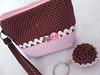 Fofurinhas para o natal (IRIS - Artesanato Moderno) Tags: handmade artesanato craft fuxico brigadeiro chaveiro portamoeda