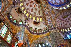 Sultαnαhмet Caмii˙·٠Blue Mosque (gLySuNfLoWeR) Tags: islam istanbul mosque ottoman bluemosque cami sultanahmet sultanahmetcami osmanlı