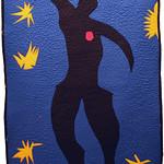 "<b>Jazz: Icarus, 1943 (after: Henri Matisse)</b><br/> Rebecca Kamm (Art Quilt, 2011)<a href=""http://farm9.static.flickr.com/8069/8242704406_6f8a614476_o.jpg"" title=""High res"">∝</a>"