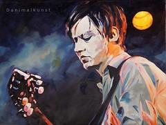 Konstantin (Danimalkunst on facebook!!) Tags: light boy portrait music man mask guitar profile band spotlight singer nightlive