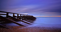 You hold me up.... (SLy-ire) Tags: uk longexposure sea england seascape water canon landscape timber piers canon5d seashore longexposures ndfilters ndgrad canon24105mm leefilters canon5dmarkii