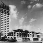 Hôtel de ville vers 1957