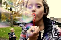 Bubble up your life (melimeli91) Tags: park girl face kid colours bubbles blow