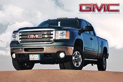 GMC 2500HD (khalid alrabiah) Tags: car truck desert sierra gmc  2500hd