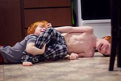 Cody & Ryan (tanya_little) Tags: life winter boy portrait house silly childhood canon fun person photography 50mm togetherness ginger washington kid december child close natural brothers young lifestyle fringe redhead indoors nighttime together bedtime inside bangs closeness f18 redhair inhome ellensburg 2012 121212 spendingtime december12 t2i tanyalittle