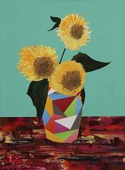 Flowers for a Martyr. 73 x 54 cm. Acrylic on canvas. 2011