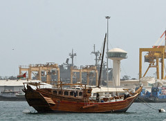 Old Dhow (chrisonmas) Tags: dhow muscat oman