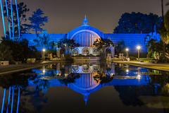 Blue Reflection...explored 8/21/16 (Bob Kirschke) Tags: balboapark sandiego earlymorning beforesunrise blue reflection bobkirschke morning