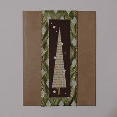 greeting-card (Julie Savard) Tags: origami handmade handmadecards orijuju juliesavard carteenorigami greetingcards collage mixedmedia paperfolding christmas christmastree christmascards holidaycards seasonsgreeting christmastreecards holyday