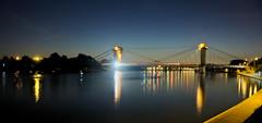 Alfortville (vintage114) Tags: pont alfortville nuit seine