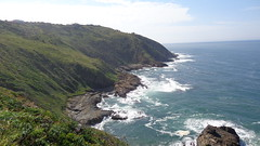 View from The Gap (Rckr88) Tags: view from gap viewfromthegap port st johns portstjohns sea water outdoors ocean easterncape eastern cape south southafrica africa waves wave coast coastline coastal rockycoastline rock rocks green greenery cliff cliffs