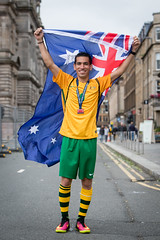 Homeless World Cup 2016 (Homeless World Cup Official) Tags: hwc2016 homelessworldcup aballcanchangetheworld thisgameisreal streetsoccer glasgow soccer australia player portrait profile flag scotland