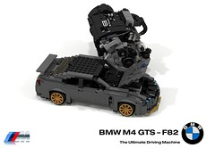 BMW M4 GTS (F82 - 2016) + UCS BMW S55 3.0 Litre Turbocharged Inline Six Engine (lego911) Tags: bmw m4 gts 2016 coupe turbo auto car moc model miniland lego lego911 ldd render cad povray track racer 2010s lugnuts challenge 106 exclusiveedition limited special exclusive edition germany german sport ucs engine motor foitsop