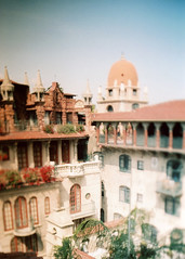 Porst SP Mission Inn 1 () Tags: vintage retro classic film camera losangeles california riverside history west coast architcture porst photo quelle 35mm m42 slr germany chinon cosina japan tiltshift color