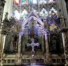 [43983] St Peter, Leeds : High Altar (Budby) Tags: leeds church minster westyorkshire altar reredos victorian