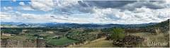 Uitzicht vanaf Polignac (HP016493) (Hetwie) Tags: vulcanisch burcht heuvels uitzicht polignac view auvergnehauteloire frankrijk