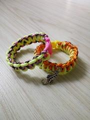 Paracord bracelet (Foksik) Tags: bracelet paracord craft