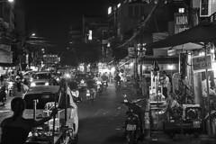Ho Chi Minh City (pavel conka) Tags: ho chi minh city thnh ph h ch si gn conka 2016 czech bw black white people live night vietnam