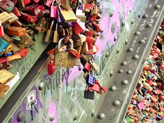 Cadnas (Loubna Mari) Tags: locks cadenas bridge pont kln cologne colors
