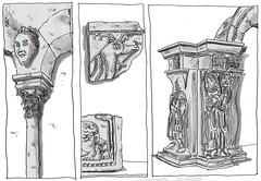 France, Saint-Guilhem-le-Desert (pirlouit72) Tags: france sketch drawing dessin croquis urbansketch urbansketcher urbansketchers carnetdevoyage unesco
