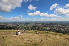 Malvern Hills (portlock44) Tags: malvern hills landscape england clouds blue sky worcestershire herefordshire kite gliding summer wide angle