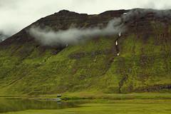 Hinsfjararvatn (CoreForce) Tags: lake hut refelection mountain norurlandeystra island