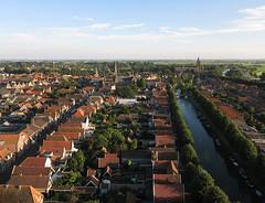 Monnickendam (2) (de kist) Tags: kap thenetherlands waterland monnickendam heritage aerial