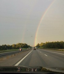 Rainbow (lubovphotographer) Tags:          rainbow clouds cameraphoto photography photo nature samsunggalaxycamera picturethis panorama sky
