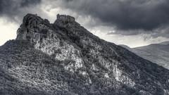 Il Volterraio - Isola d'Elba (RONALD MENTI) Tags: ronaldmenti hdr bw bn isoladelba italia italy toscana