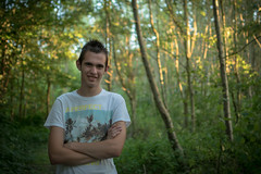 Portrait of me : ) (Marc de Graaf) Tags: portrait myself me forest colors