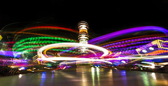 Long exposure 4s @ Attractie kermis Veghel 2016 (K.L. Lee) Tags: kermis fair veghel longexposure long exposure lange sluitertijd
