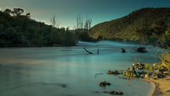 Murrumbidgee River (GreyStump) Tags: cotterriver water landscape canberra redhill australiancapitalterritory act australia greystump copyrightcolinpilliner country countryside trees scape earlymorning aftersunrise check location