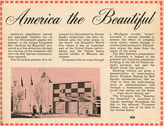 America the Beautiful, 1960 (Tom Simpson) Tags: vacationland vintage 1960 1960s disney vintagedisney disneyland america beautiful