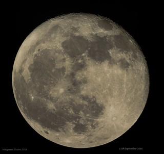 98% illuminated moon