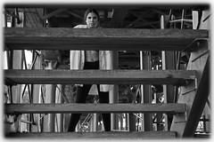 Sole (Jezabel Galn) Tags: modelo model mujer woman huelva ra muelle del tinto luz light jezabel sky canon rflex