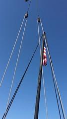 Standing on the deck of the Pinta Decatur Harbor (King Kong 911) Tags: pinta nina sailing ships