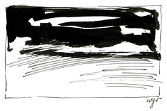 Wolfram Zimmer: Silence - Stille (ein_quadratmeter) Tags: wolfram zimmer bilder kunst malerei zeichnung images foto photo fotos photos gemlde wolframzimmer konzeptkunst objektkunst meinzimmer freiburg burgbirkenhof kirchzarten ausstellung ausstellungen pinsel tusche ink dessin exhibition exhibitions drawing landschaft landscape improvisation