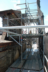 scaffolding, scaffold, superior scaffold, 215 743-2200, philadelphia, pa, de, md, nj, new jersesy, shoring, renovation, masonry, construction, divine lorraine, 082 (Superior Scaffold) Tags: scaffolding scaffold rental rent rents 2157432200 scaffoldingrentals construction ladders equipmentrental swings swingstaging stages suspended shoring mastclimber workplatforms hoist hoists subcontractor gc scaffoldingphiladelphia scaffoldpa phila overheadprotection canopy sidewalk shed buildingmaterials nj de md ny renting leasing inspection generalcontractor masonry superiorscaffold electrical hvac usa national safety contractor best top top10 electric trashchute debris chutes divinelorraine netting