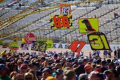 Pit here, no here... (Larry White (Trying_to_Shine)) Tags: colors nascar texasmotorspeedway pitroad canon7d