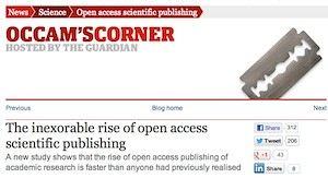 Open Access article at Occam's Corner