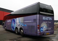 Hatts Quality Travel PO12EOG Beulas Glory (chrisbell50000) Tags: show travel favorite back coach birmingham glory quality centre rear exhibition national end favourite nec beulas hatts eurobusexpo2012 interdecker chrisbellphotocom po12eog