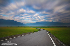 (nodie26) Tags: sky cloud sun color field sunrise star long tour slow rice paddy farm taiwan