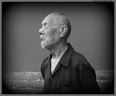 Portraits from China (4 pictures) (jackfre2 (on a trip-voyage-reis-reise)) Tags: portrait portraits china beijing man oldman bw rememberthatmomentlevel1 rememberthatmomentlevel2 rememberthatmomentlevel3 mygearandme mygearandmepremium mygearandmebronze