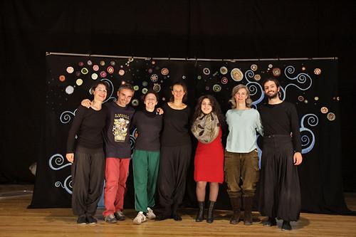 Foto di gruppo dopo il nostro ultimo spettacolo a Gyumri Armenia