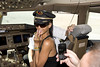 Rihanna Rihanna in the cockpit of flight 777 from Los Angeles to Mexico City USA