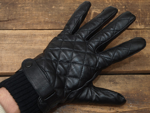 barbour leather gloves,barbour lowerdale quilted gilet : leather quilted gloves - Adamdwight.com