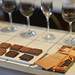 Attendees were given a varied selection of chocolate to taste with complimentary wines