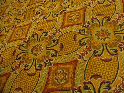 More fresh carpet on the freshly abandoned casino floor